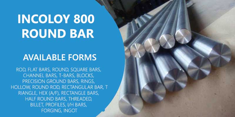 Incoloy 800 Round Bar